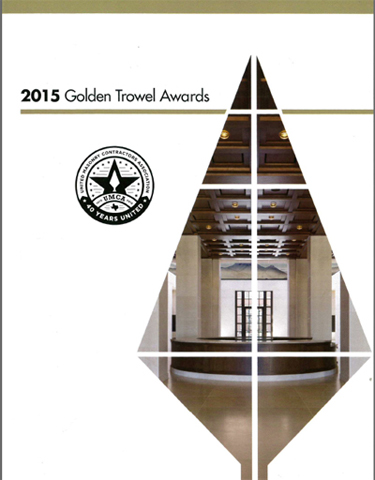 The Golden Trowel Award
